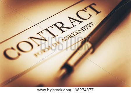 Contract Signing Concept