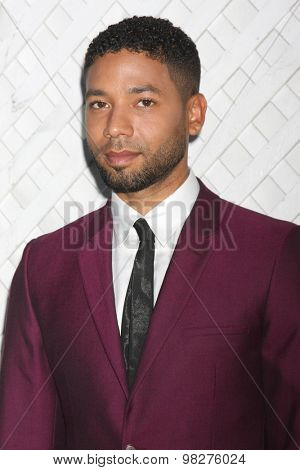LOS ANGELES - AUG 8:  Jussie Smollett at the 17th Annual HollyRod Designcare Gala at the The Lot on August 8, 2015 in West Hollywood, CA