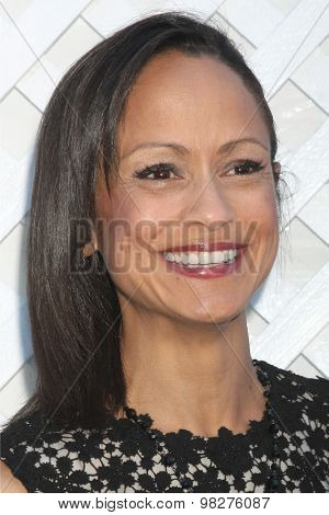 LOS ANGELES - AUG 8:  Anne-Marie Johnson at the 17th Annual HollyRod Designcare Gala at the The Lot on August 8, 2015 in West Hollywood, CA