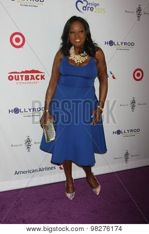 LOS ANGELES - AUG 8:  Star Jones at the 17th Annual HollyRod Designcare Gala at the The Lot on August 8, 2015 in West Hollywood, CA