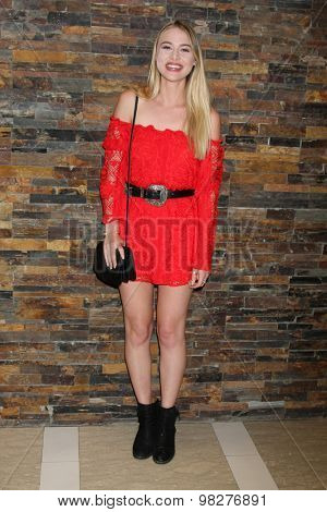 LOS ANGELES - AUG 8:  Hayley Erin at the General Hospital Fan Club Luncheon Arrivals at the Embassy Suites Hotel on August 8, 2015 in Glendale, CA