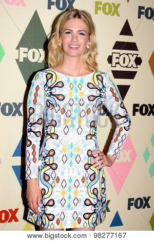 LOS ANGELES - AUG 6:  January Jones at the FOX Summer TCA All-Star Party 2015 at the Soho House on August 6, 2015 in West Hollywood, CA