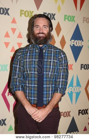 LOS ANGELES - AUG 6:  Will Forte at the FOX Summer TCA All-Star Party 2015 at the Soho House on August 6, 2015 in West Hollywood, CA