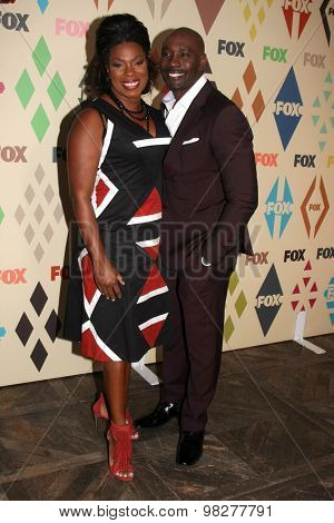 LOS ANGELES - AUG 6:  Lorraine Toussaint, Morris Chestnut at the FOX Summer TCA All-Star Party 2015 at the Soho House on August 6, 2015 in West Hollywood, CA