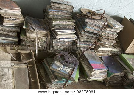 Pile Of Rotting Books