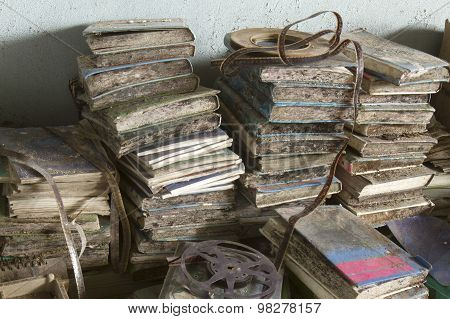 School Books In Decay