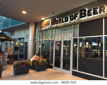 World of Beer in Stamford, Connecticut
