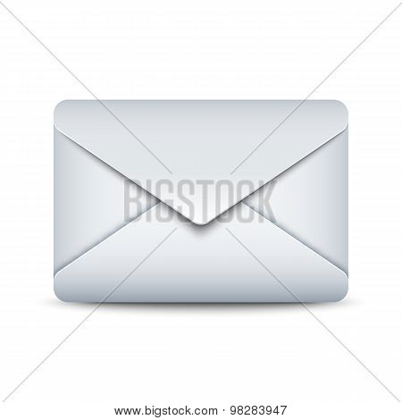 Sealed Envelope Icon, Vector Illustration