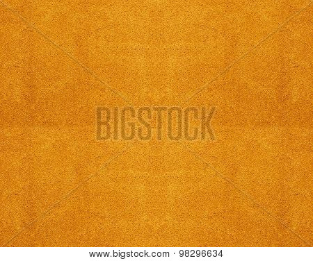 Texture Of A Yellow Cotton Towel As A Background