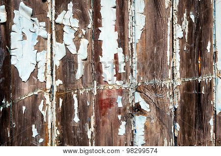 Retro Scratched Planks