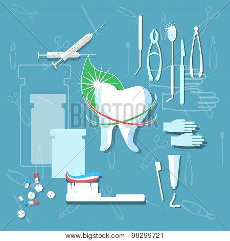 Brushing Teeth, Hygiene, Toothpaste, Dental Treatment, Floss, Medicament, Dental Instruments, Stomat