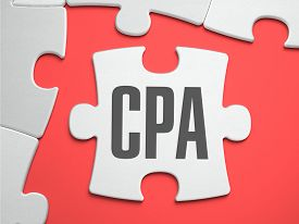 stock photo of cpa  - CPA  - JPG