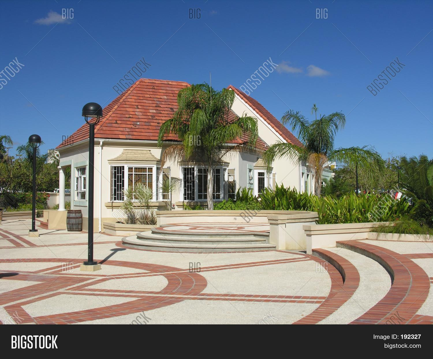 Modern Caribbean Architecture Stock Photo Stock Images