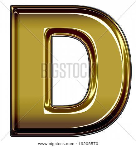 caja de oro superior D
