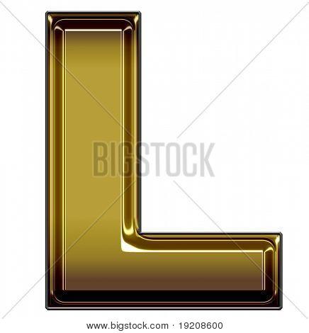 oro mayúsculas L