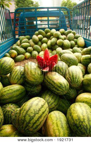 Watermelon Truck
