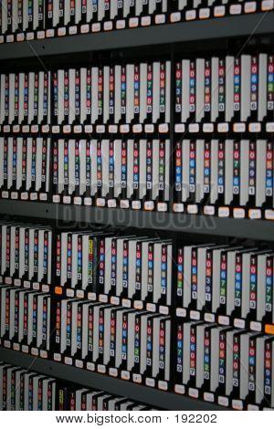 Backup-Bänder mit Digitalspeicher
