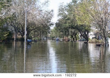 Huracán Katrina inundación en Nueva Orleans
