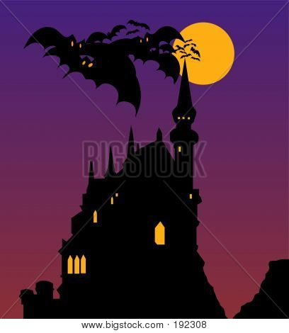 Castelo Halloween