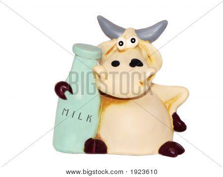 Cow Statuette