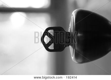 Key In Doorknob