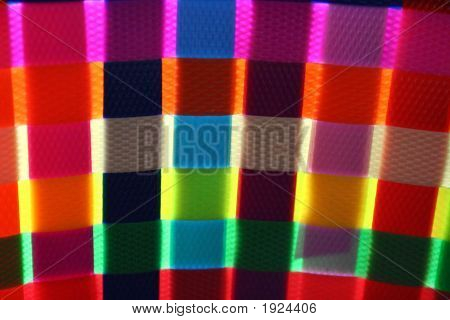 Colorful Basket Weaving Texture Glow - Detail