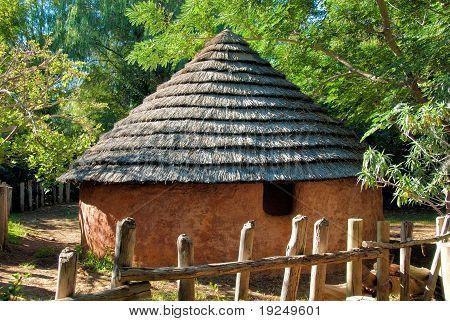 Africa soil house