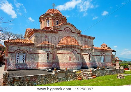 Monastery of 'Osios Efraim' in Greece