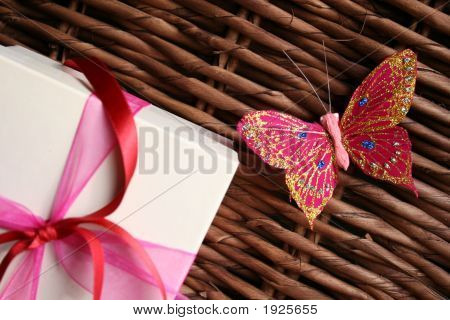 Gift And Butterfly