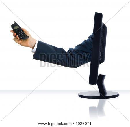 Llamada de teléfono