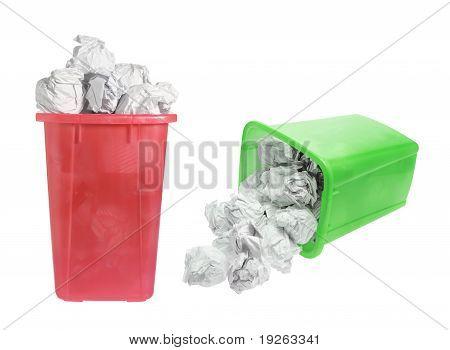 Waste Paper Bins