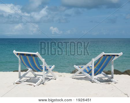 Beach Deck Chairs