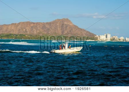 Diamond Head Boat