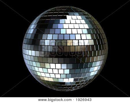 3D Disco-Kugel