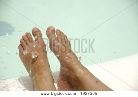 Feet And Water