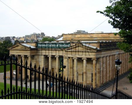 The National Gallery Of Scotland, Edinburgh