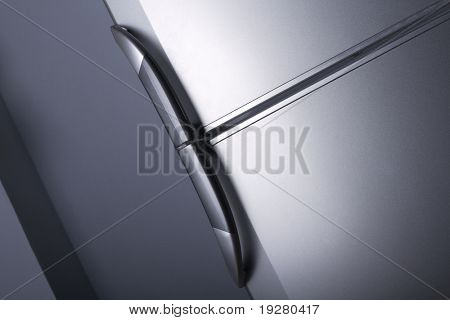 Refrigerator door - close up