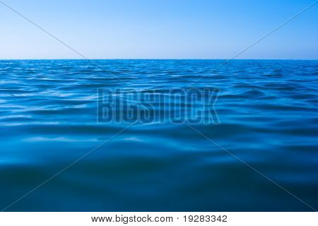 superfície da água de mar calmo ainda
