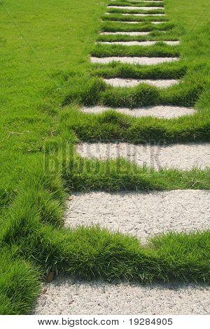 Stone path