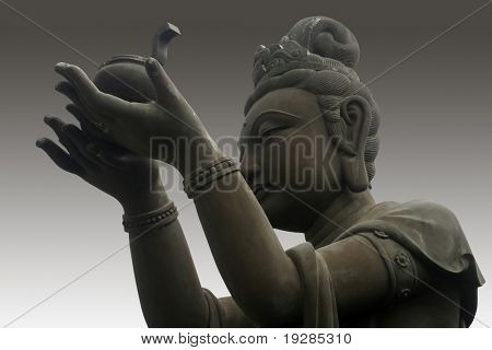 The buddha worshiper