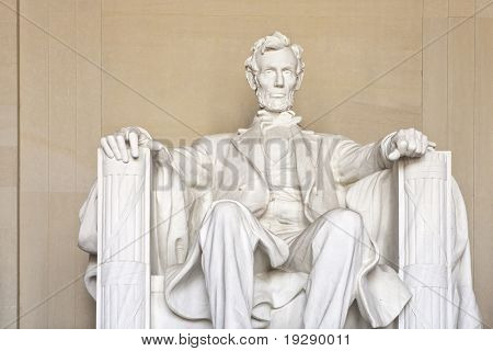 Abraham Lincoln Memorial in Washington dc, USA