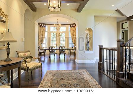 Luxury Home view to Dining Room