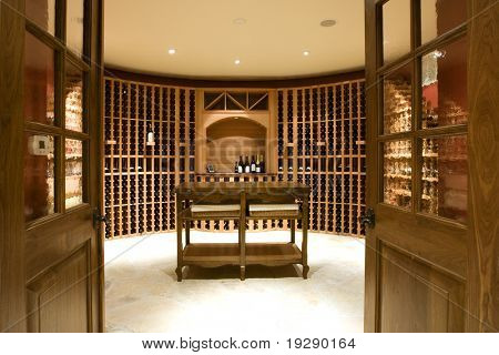 Home Wine Cellar Room