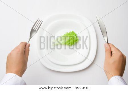 Auf eine Diät