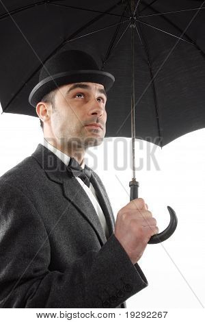 Man With An Umbrella