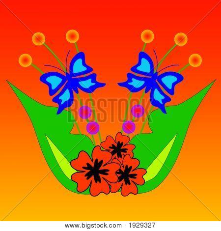 Vector Flower Design