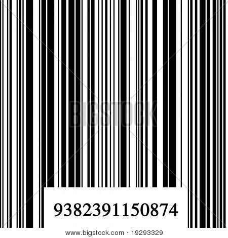 Barcode with numbers