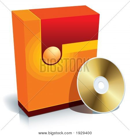 Box And Cd Red