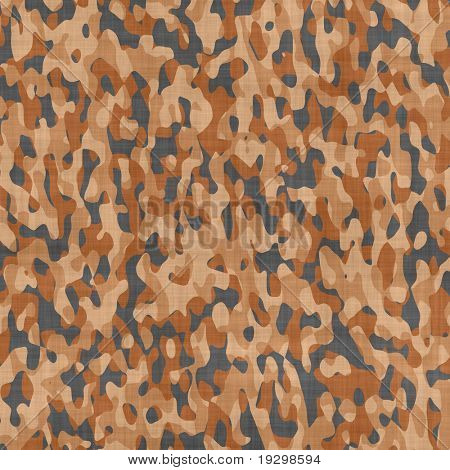 large image of brown desert camouflage material