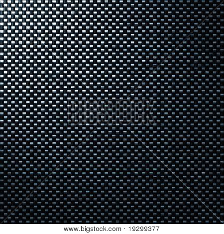 great black woven carbon fiber background texture